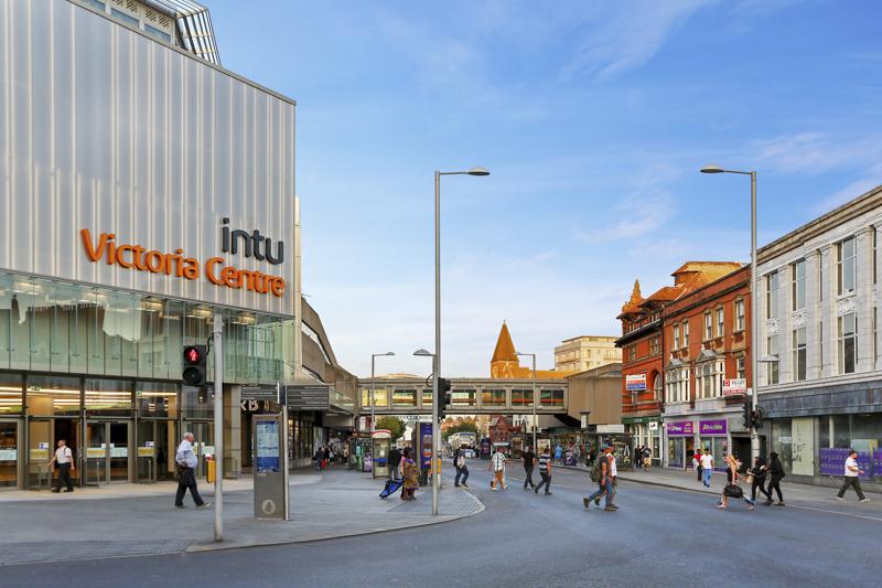 Nottingham city KP House outer area