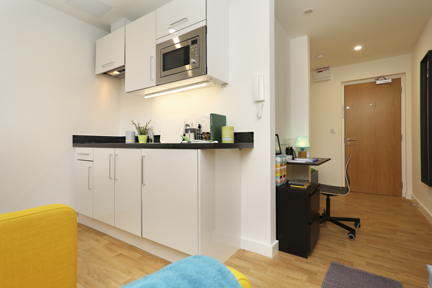 students kitchen area in Newcastle-under-Lyme