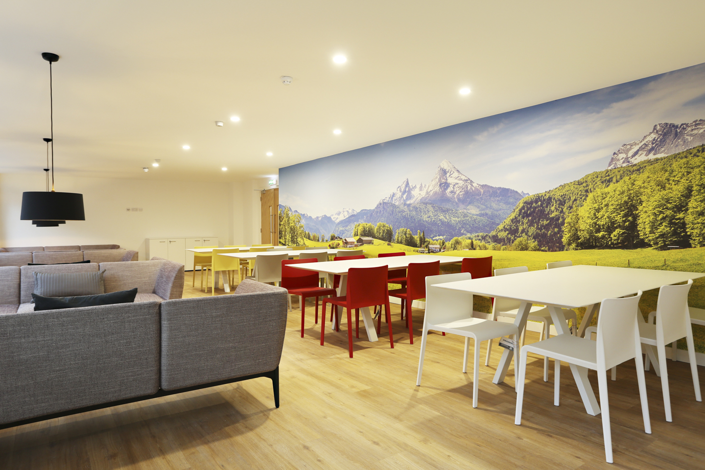 Social space for students in Keele House