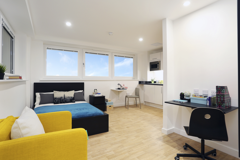 Newcastle-under-Lyme bedroom in Keele house