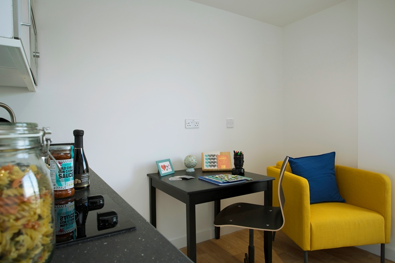 Westbar house student accommodation reading area