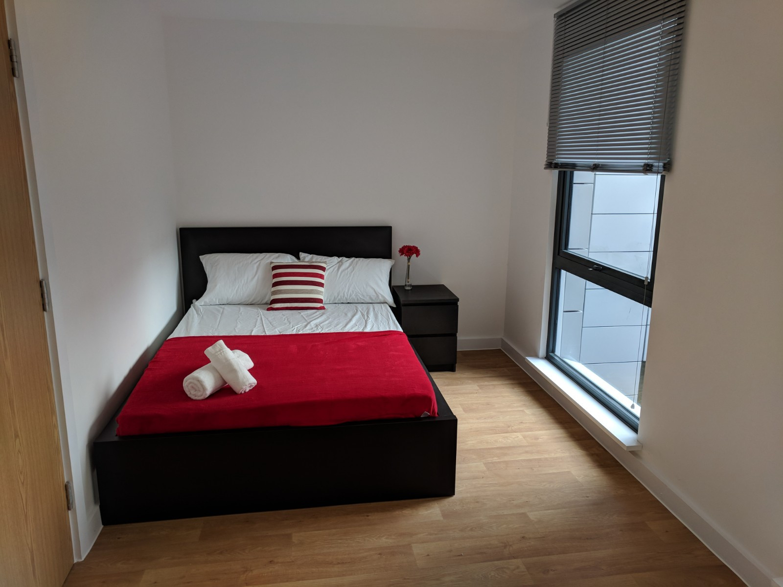 Sheffield's Westbar house double bedroom
