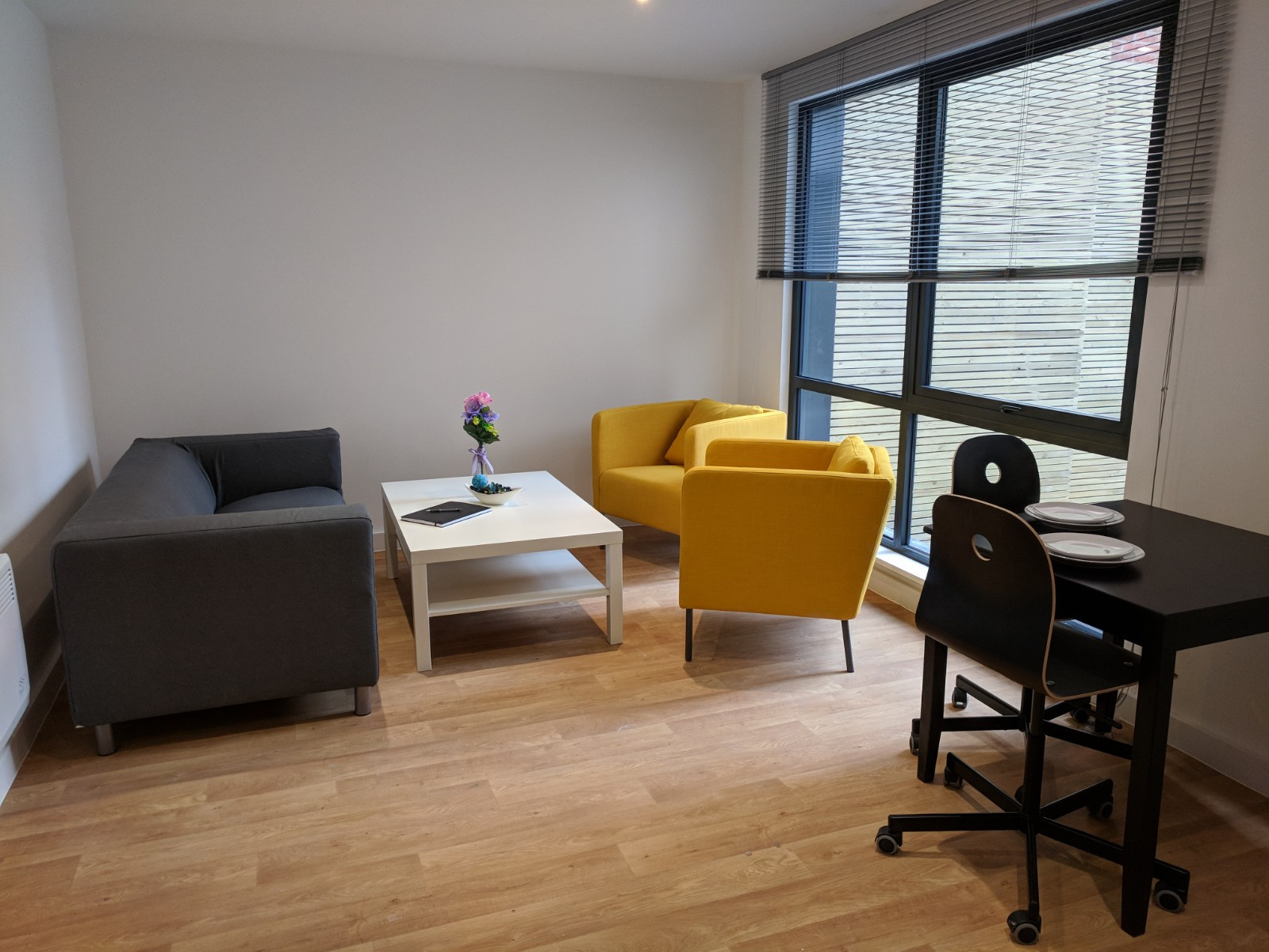 Private space for Westbar house Sheffield