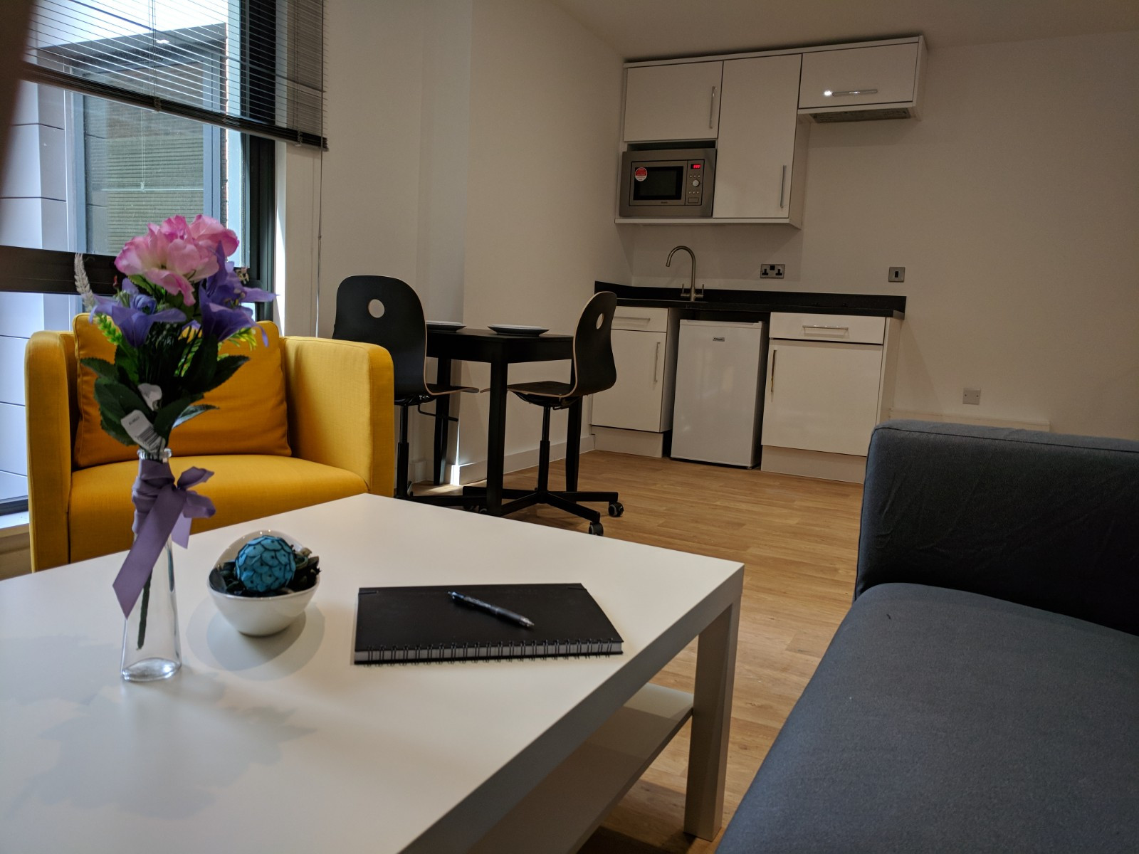 Communal space in Westbar house