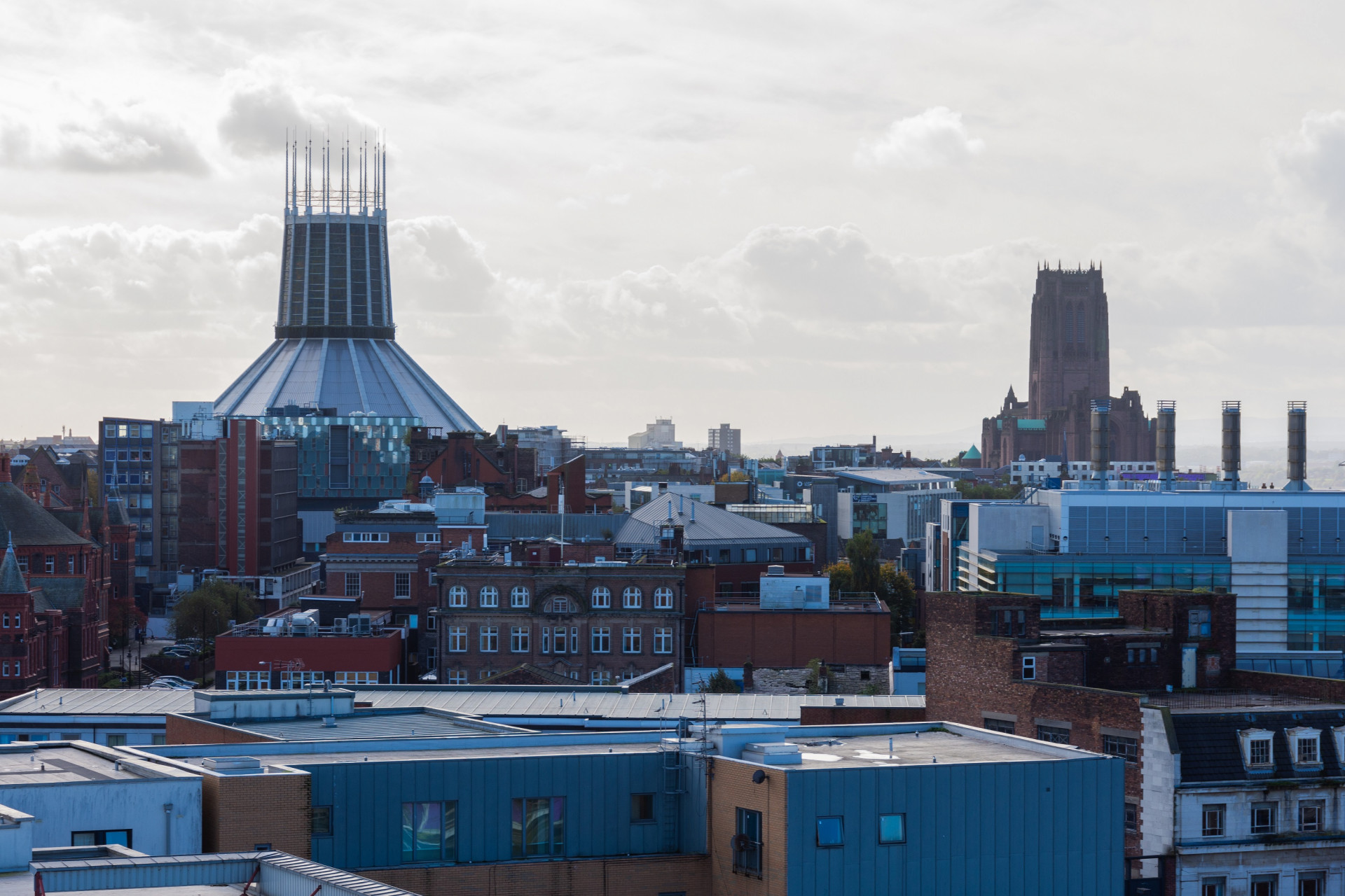 Student Accommodation view of Liverpool in One Islington Plaza