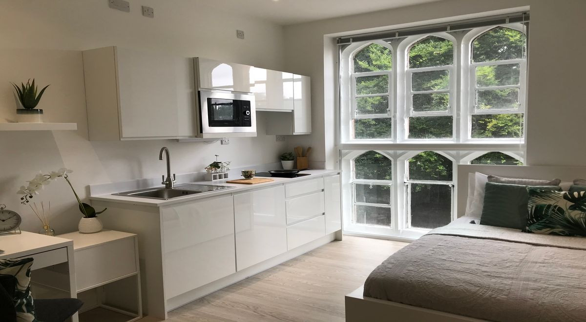 Kitchen Area for student accommodation orme house