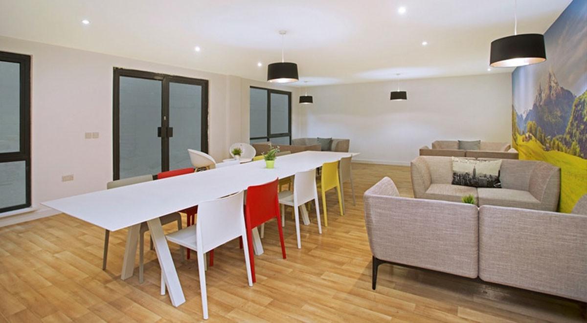 Sheffield Westbar House student accommodation communal