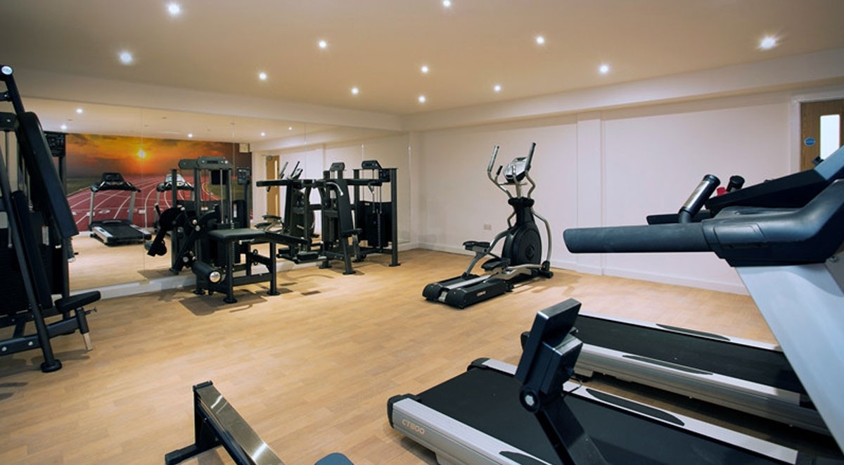 Private fitness area Westbar House Sheffield