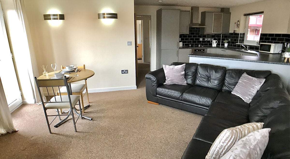Newcastle-under-Lyme student accommodation social space