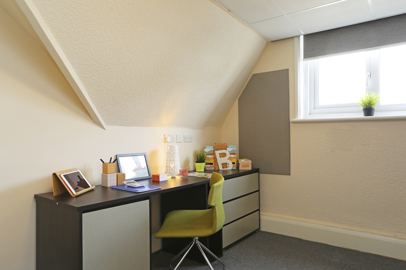 Nottingham study area for students