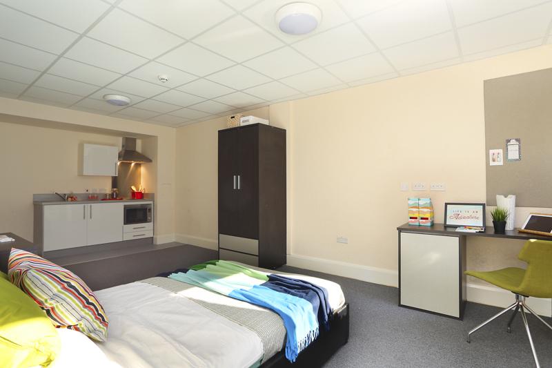 Nottingham Premier Studio area