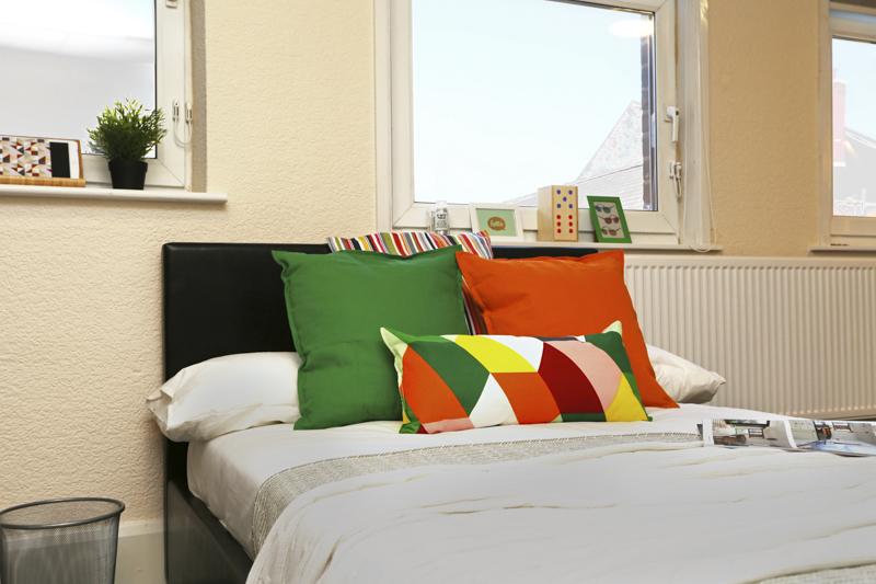KP house Nottingham bedroom