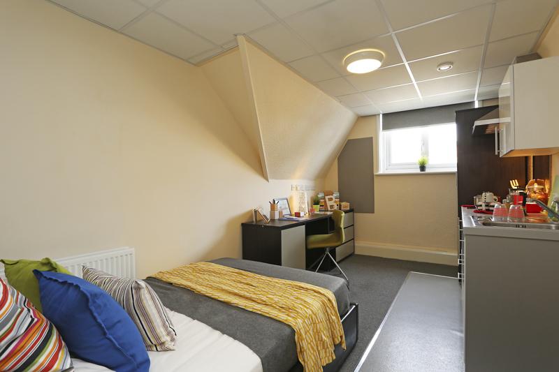 Bedroom area KP House Nottingham