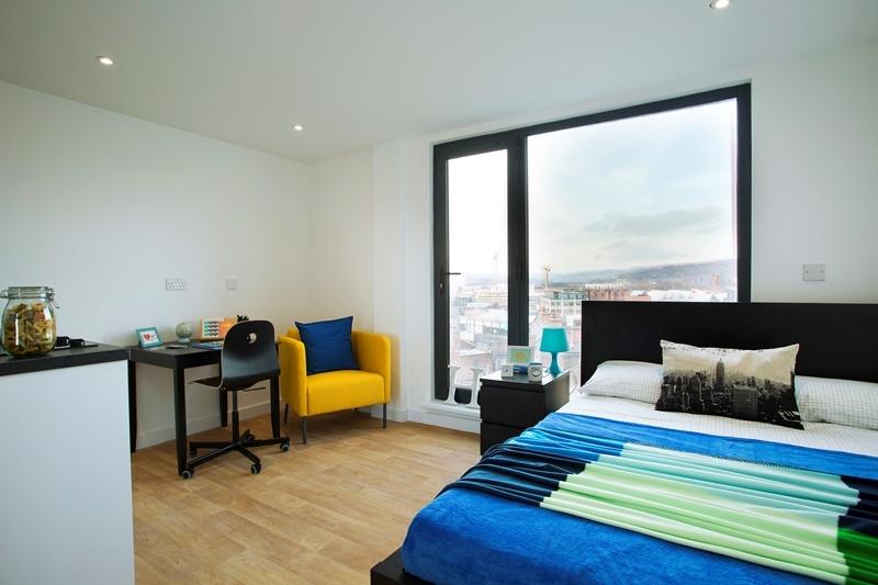 Westbar house Sheffield Student Accommodation Bedroom image