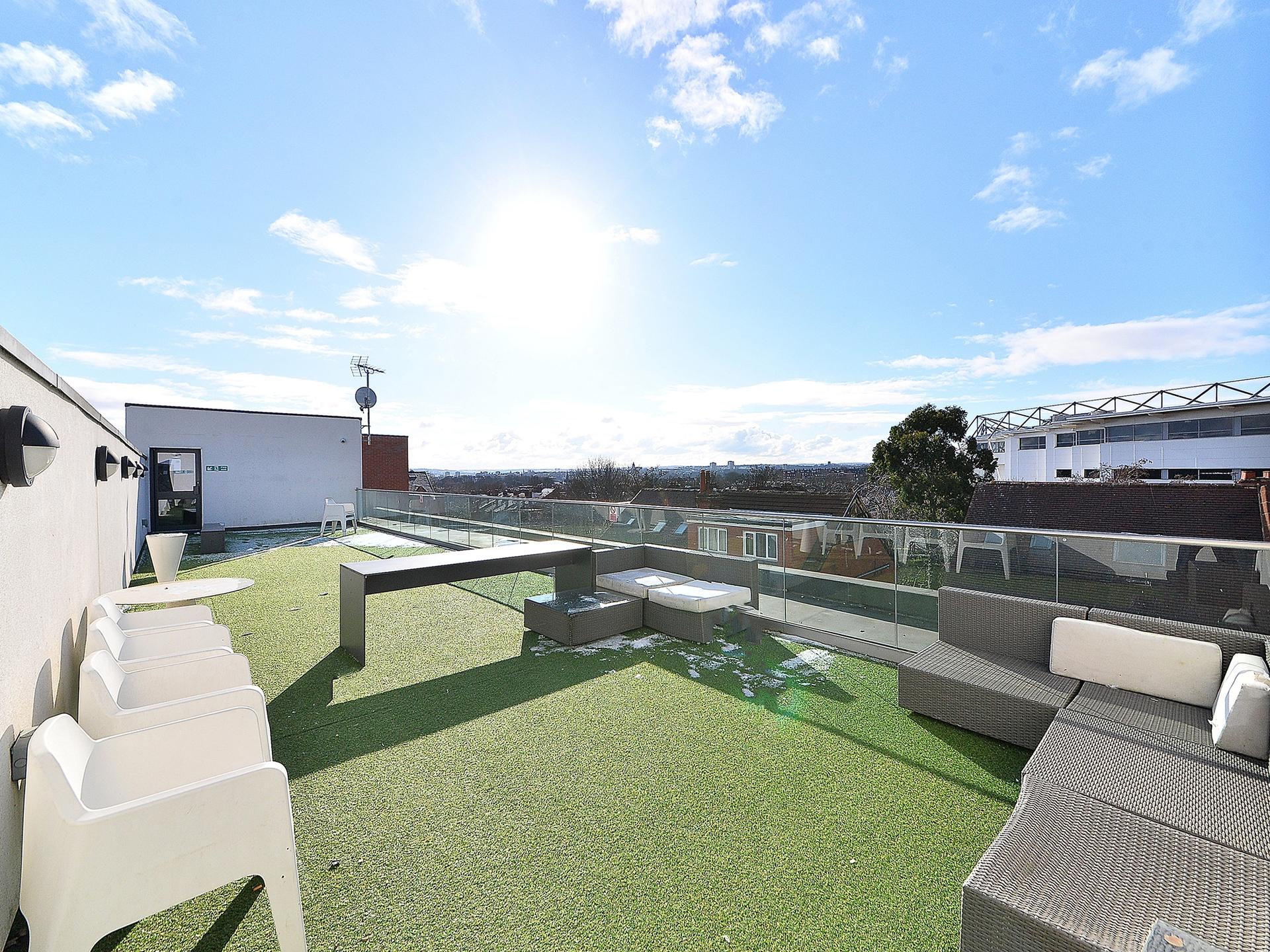 terrace student accommodation The Pavilion