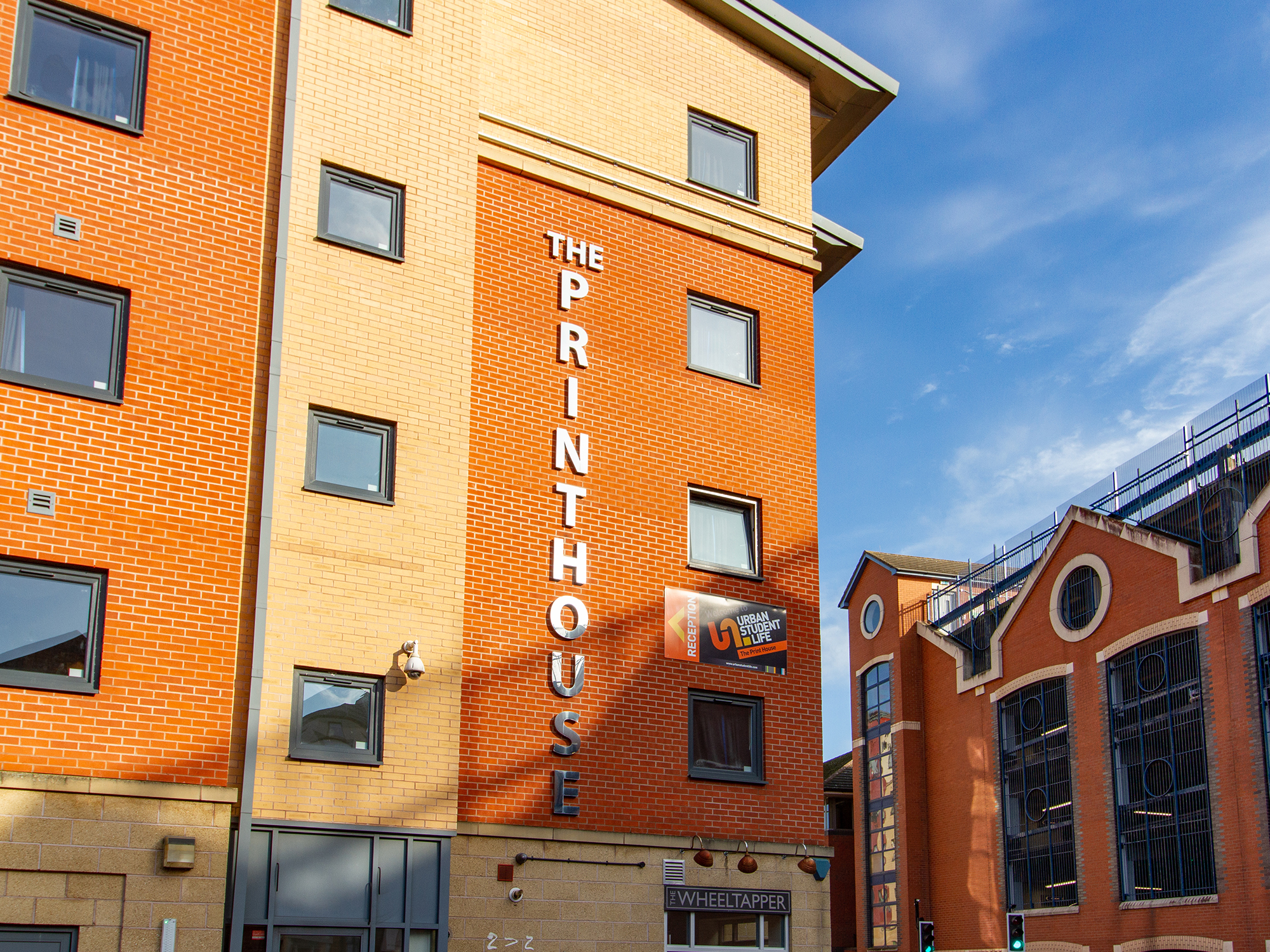 The Print House loughborough exterior student accommodation