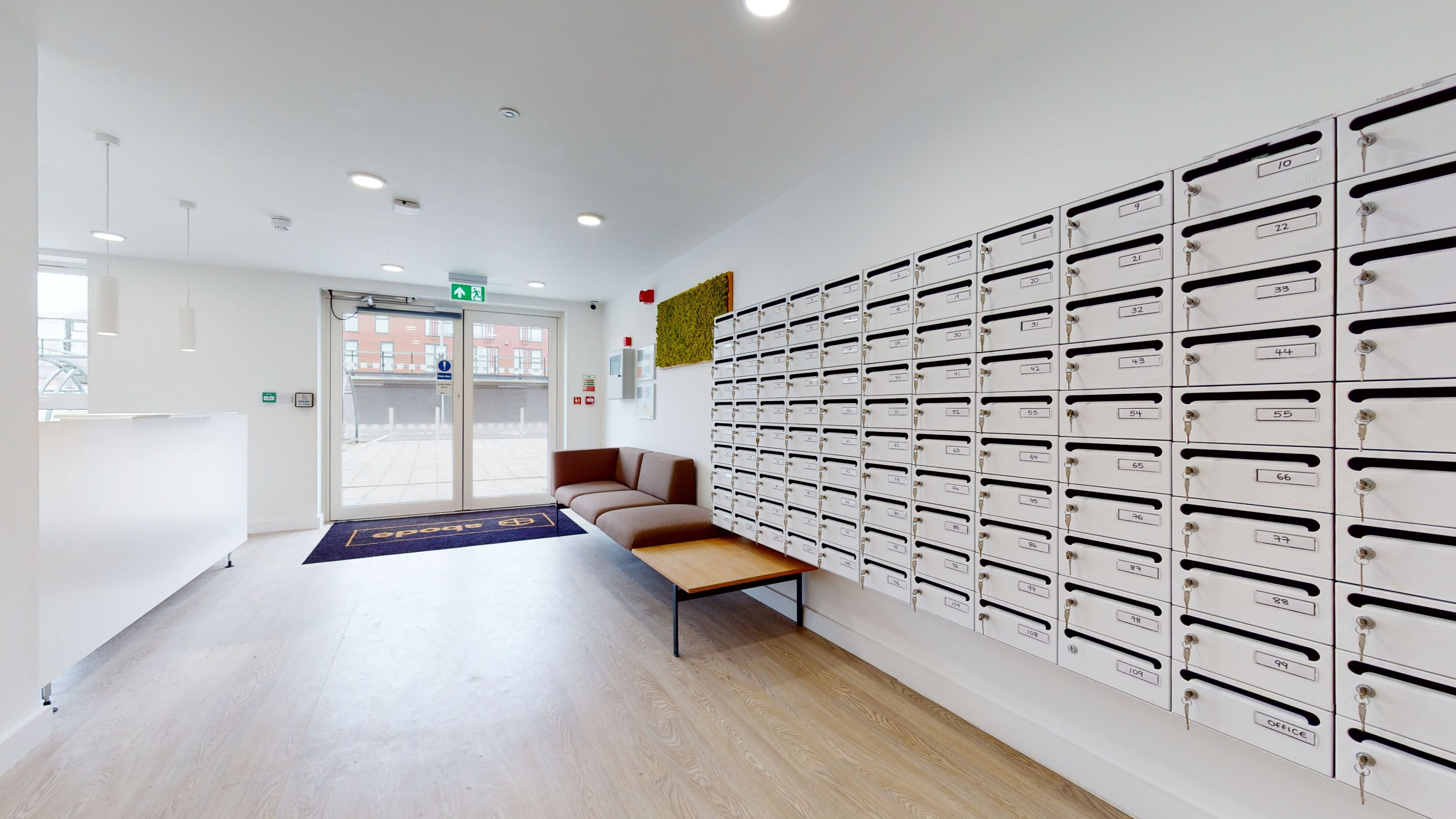mail storage One London Road Newcastle under lyme student accommodation