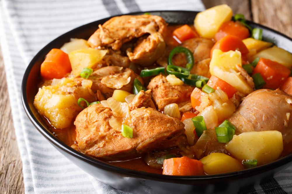 Spring Chicken Stew Mother's Day lunch