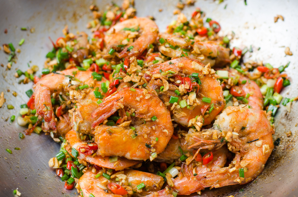 Salt & Pepper Prawns Fakeaway Recipes