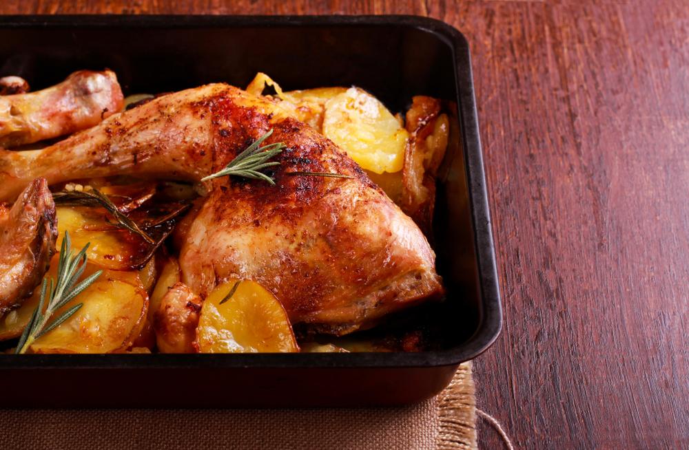 thai chicken traybake