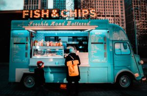 Fish and chips van in canterbury for students