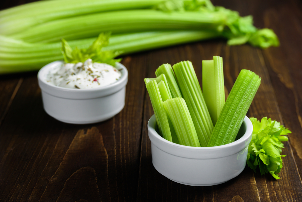 celery sticks healthy snack ideas