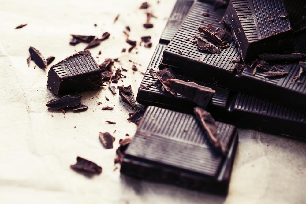 dark chocolate healthy snack ideas
