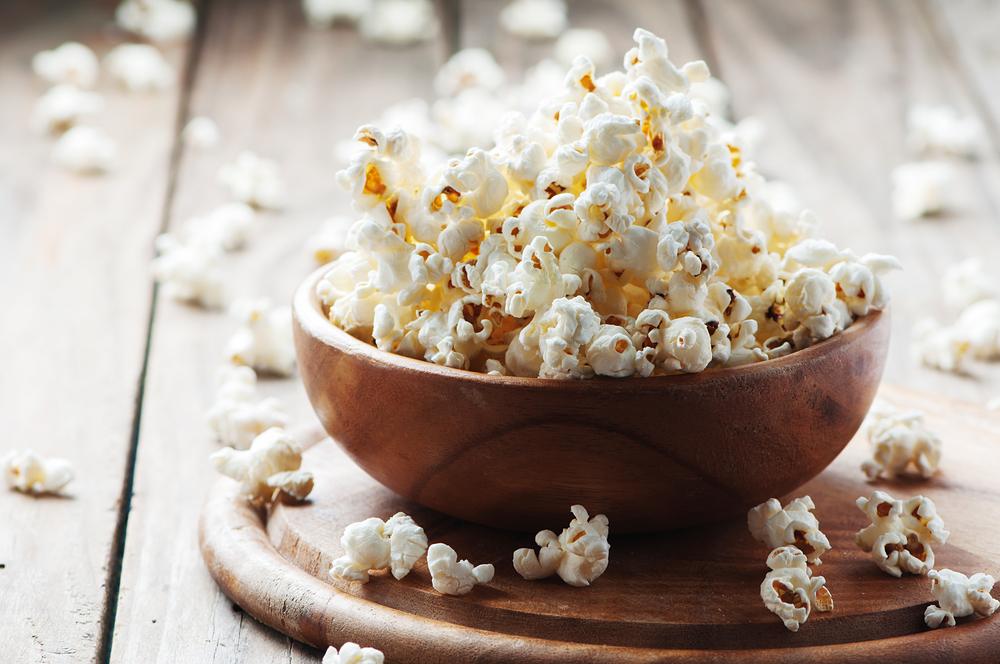 popcorn healthy snack ideas