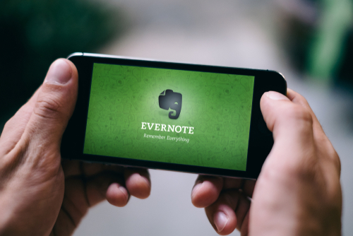 image of the app - evernote