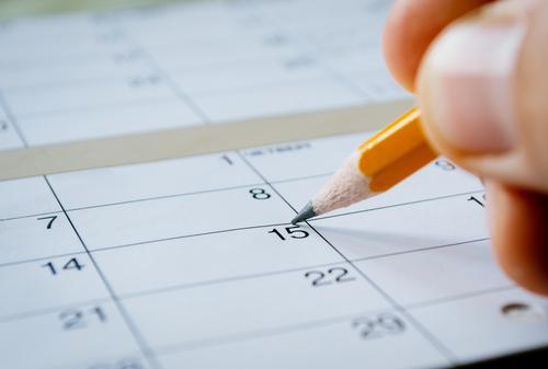 consistent schedule
